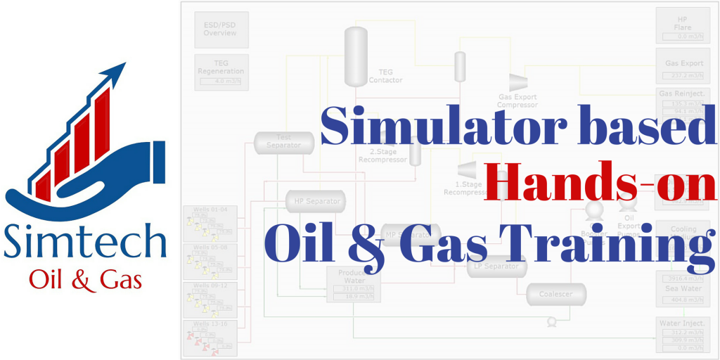 Simulator based oil & gas production hands-on training